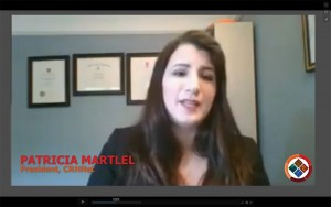 Welcome Address, Patricia Martel