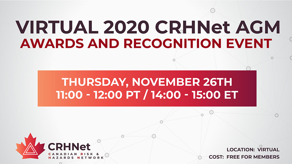 Virtual 2020 CRHNet AGM